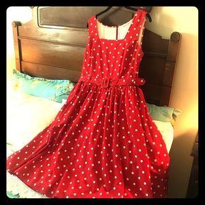 eShakti Polka Dot 1950s style Sundress Disneybound